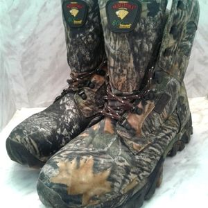 Herman Survivors Thinsulate camo 11 hunting boots